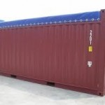 20' Open top Used container