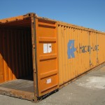 used container 40' Hard top / open top for shipping or storage