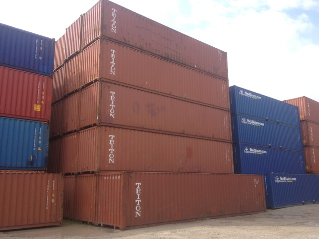 40u0027 Used Storage and shipping Containers & Sale of used storage containers and second hand shipping ...