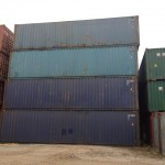 40' high cube storage and shipping Containers