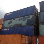 40' Storage and shipping Containers