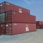 40'HC Used Containers 9'6'' high for storage or shipping