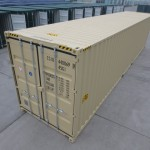 New 40' HC Shipping Container shipped from China to the USA.
