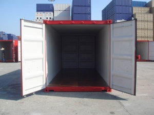 20' double door shipping or storage container