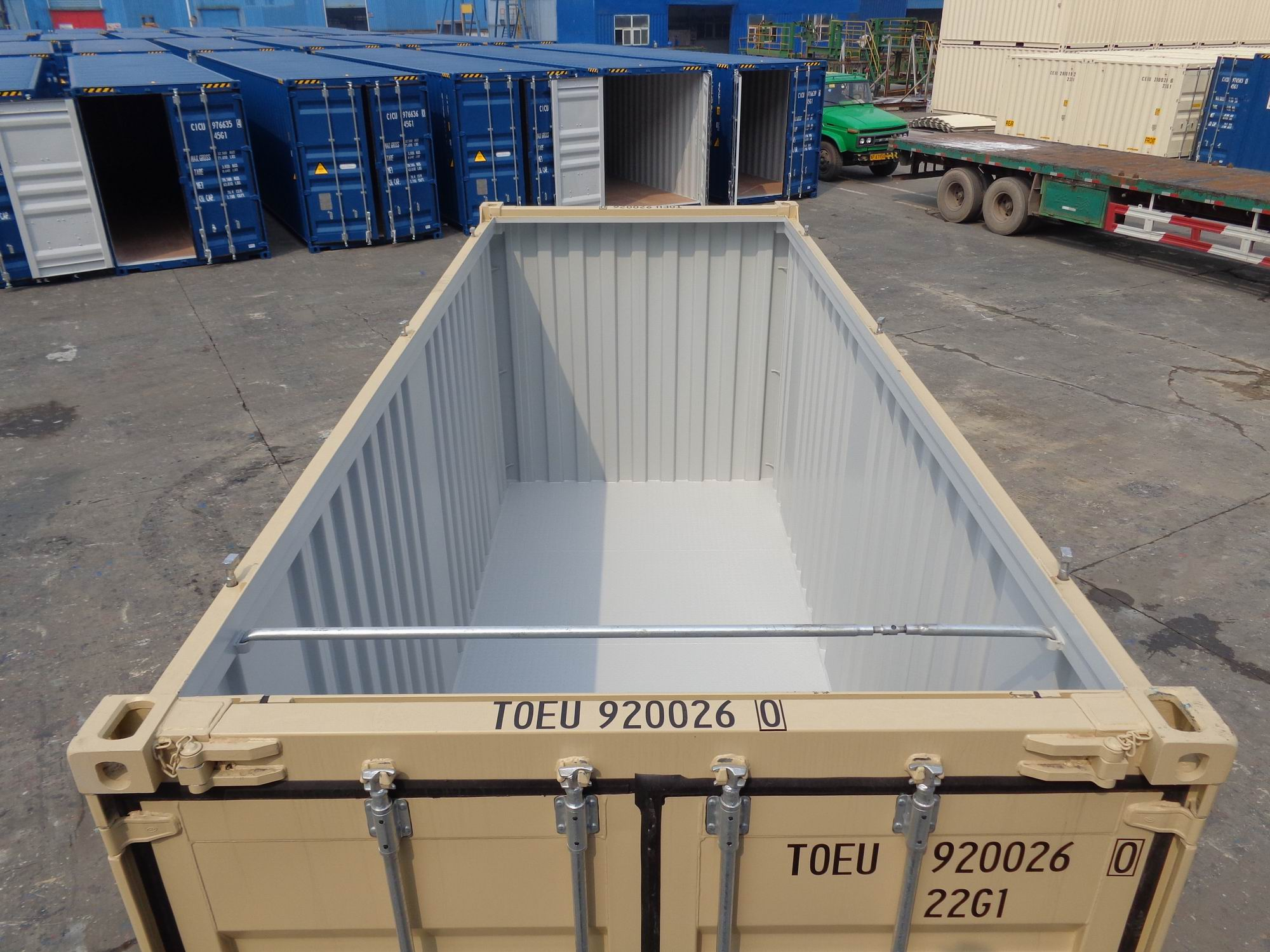 20 Hard Top Open Top Shipping Or Storage Containers