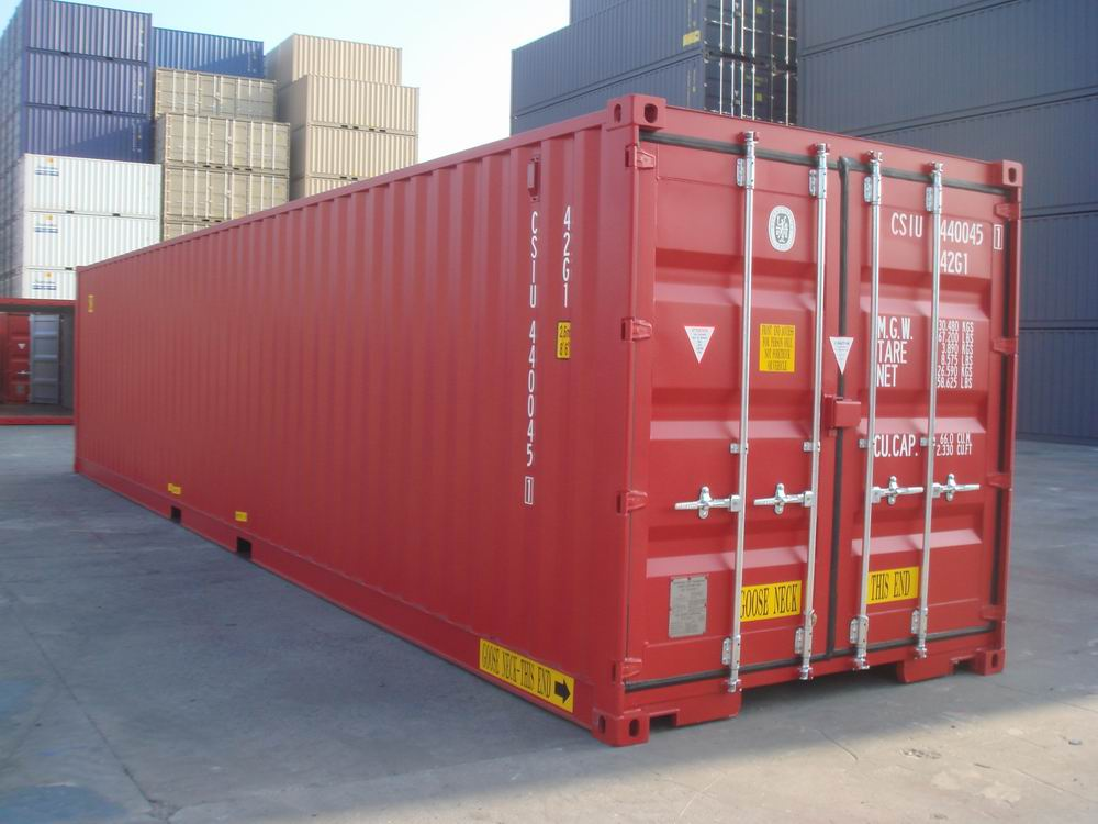 40 Double Door Containers Csi Container Services