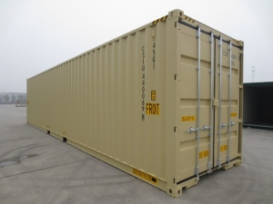New 40' High cube double door shipping or storage container