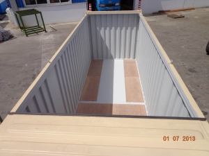 40' Hard top / open top containers